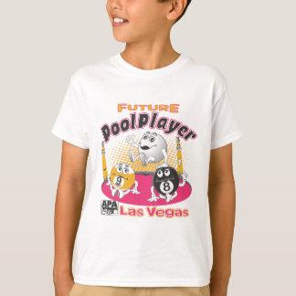 Future Pool Player - Pink T-Shirt
