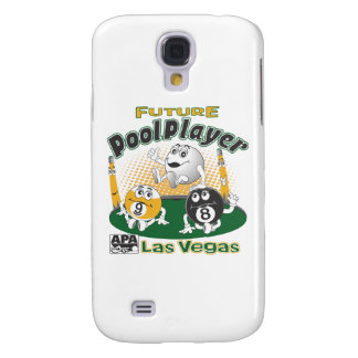 Future Pool Player - Yellow Galaxy S4 Case