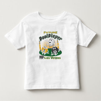 Future Pool Player - Yellow Toddler T-shirt