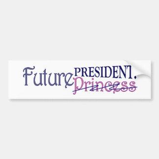 Future President Bumper Sticker