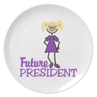 Future President Dinner Plate