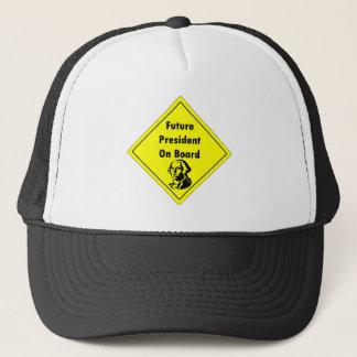 Future President on Board Clothing Trucker Hat