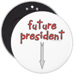future president pinback button