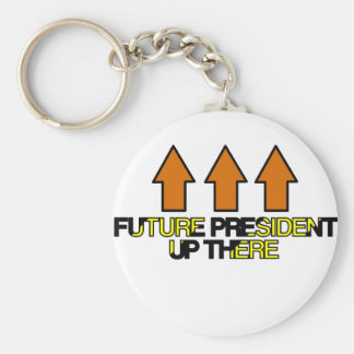 Future President Up There Keychain