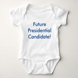 Future Presidential Candidate! Democrat Blue Baby Bodysuit