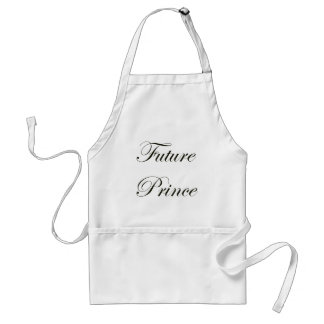 Future Prince Adult Apron