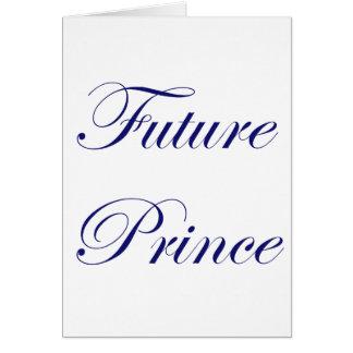 Future Prince Card