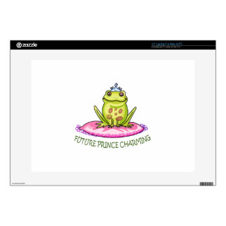 """FUTURE PRINCE CHARMING DECAL FOR 15"""" LAPTOP"""