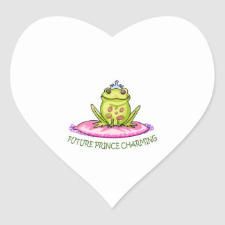 FUTURE PRINCE CHARMING HEART STICKERS