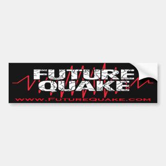 Future Quake Bumper Sticker With Website Car Bumper Sticker