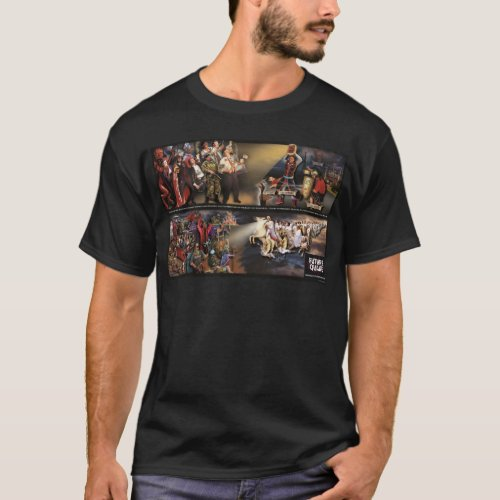 Future Quake MuralRevelation Quote Dark Shirt