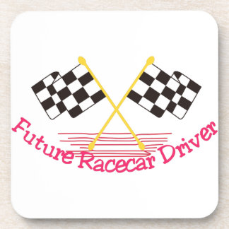 Future Race Car Driver Beverage Coaster