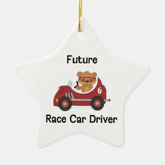 Future Race Car Driver (boy) Ceramic Ornament