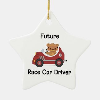 Future Race Car Driver (boy) Christmas Tree Ornament