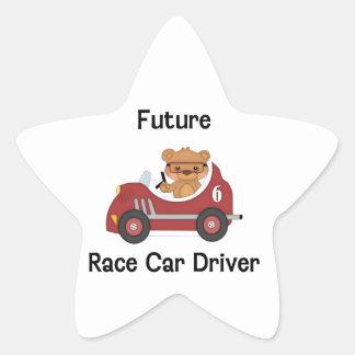 Future Race Car Driver (boy) Star Sticker