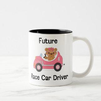 Future Race Car Driver (girl) Coffee Mugs