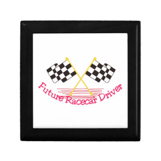 Future Race Car Driver Keepsake Box