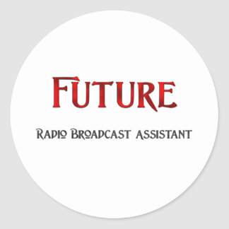 Future Radio Broadcast Assistant Stickers