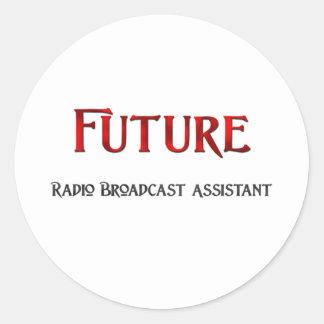 Future Radio Broadcast Assistant Stickers