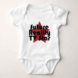 future reality tv star baby bodysuit