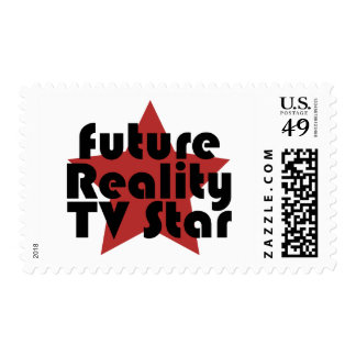 future reality tv star postage stamp
