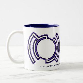 Future Record Two-Tone Coffee Mug