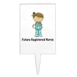 future registered nurse cake toppers