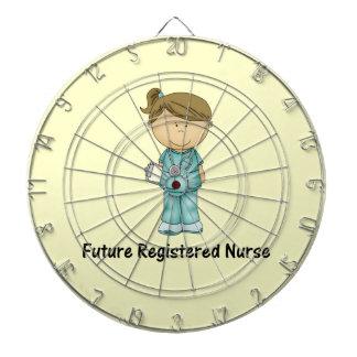 future registered nurse dartboard