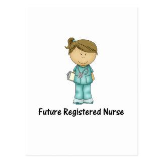future registered nurse postcard