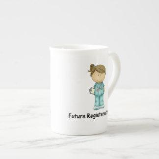 future registered nurse tea cup