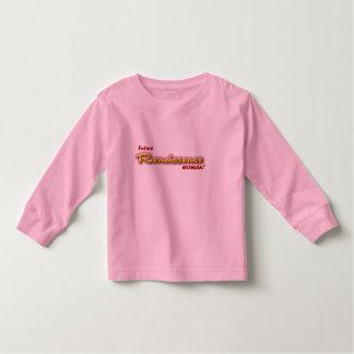 Future Renaissance Woman Toddler T-shirt