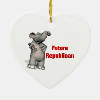 Future Republican Ceramic Ornament