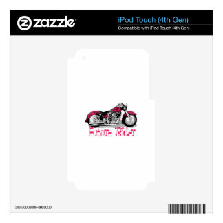 Future Rider Decal For iPod Touch 4G