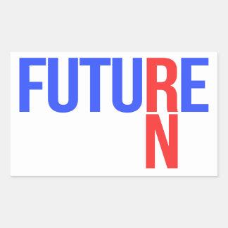 FUTURE RN RECTANGULAR STICKER