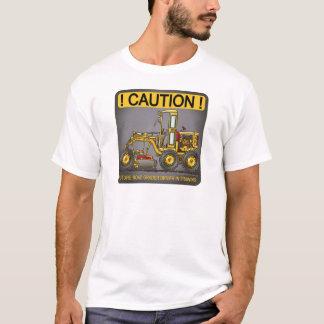 Future Road Grader Driver Mens T-Shirt
