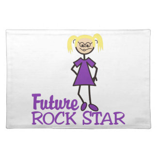 Future Rock Star Cloth Placemat