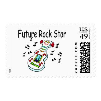 Future Rock Star Postage Stamp