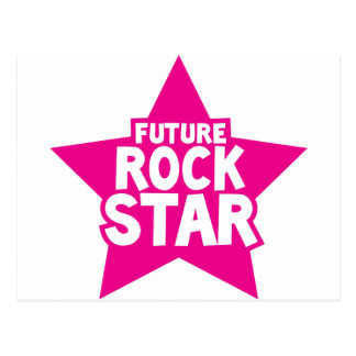 Future ROCK STAR! Postcard