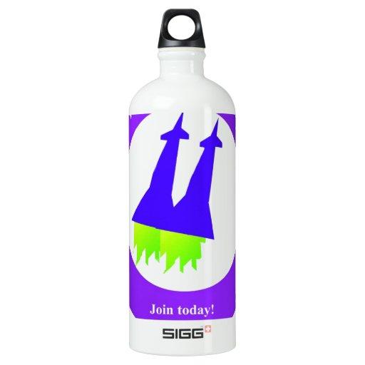 Future Rockets Water Bottle