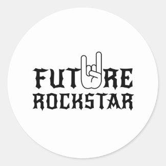 Future Rockstar Classic Round Sticker