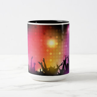 Future Rockstar Concert Two-Tone Coffee Mug