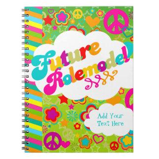 Future Rolemodel Spiral Note Book