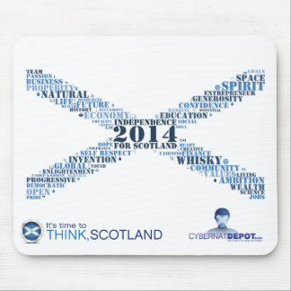 Future Saltire Mouse Pad