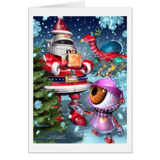 future_santaclause greeting card