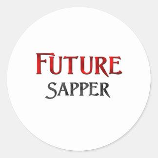 Future Sapper Classic Round Sticker