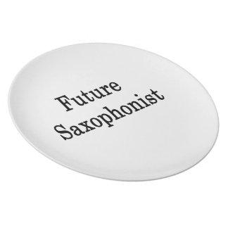 Future Saxophonist Plates