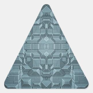 Future Sci Fi City Triangle Sticker