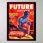 Future Science Fiction 02 (UK)_Pulp Art Poster