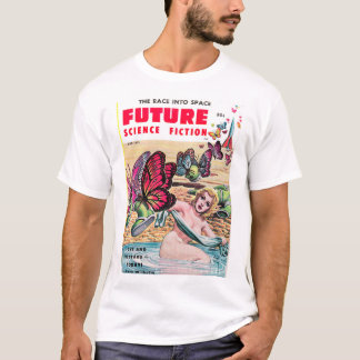 Future Science Fiction 0_Pulp Art T-Shirt