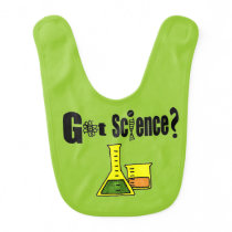 Future Scientist Baby Bib
